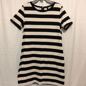 Size Medium J. Crew Striped Dress